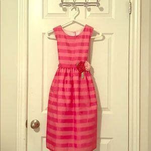 🌸Sears pink floral dress for girls 🌸